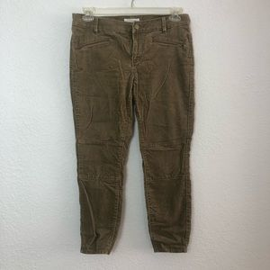 Tan colored Courtoury Ankle Pants Loft